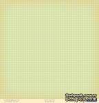 """Лист двусторонней скрапбумаги от October Afternoon - """"Fly a Kite"""" Collection - Garden, 30х30 - ScrapUA.com"""