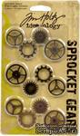 Набор металлических украшений от TimHoltz - Sprocket Gears - ScrapUA.com