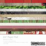Набор скрапбумаги от Kaisercraft -Paper Pad - Basecoat Christmas, 16,5х16,5 см, 40 листов - ScrapUA.com