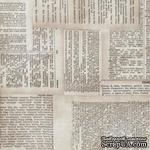 Ткань 100% хлопок - Tim Holtz Eclectic - Dictionary-Neutral, 45х55 см - ScrapUA.com