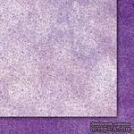 Двусторонний лист бумаги от Galeria Papieru  - Purpurowy deszcz  -  Purple rain - 05 - ScrapUA.com