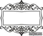 Акриловый штамп Frame Рамка, размер 6,1 * 5,1 см - ScrapUA.com