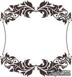 Акриловый штамп Frame Рамка, размер 5,4 * 5,7 см - ScrapUA.com