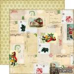 Лист двусторонней бумаги от Echo Park - Letters to Santa Paper - ScrapUA.com