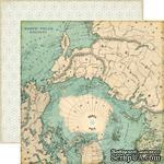 Лист двусторонней бумаги от Echo Park - North Pole Paper - ScrapUA.com