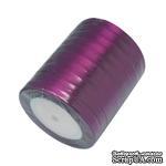 Ленточка атласная  Violet, 10мм, цвет фиолетовый, 90 см - ScrapUA.com