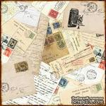 Лист двусторонней бумаги от Echo Park-Darling Damask - ScrapUA.com