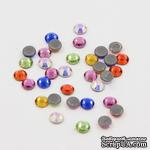 Стразы для горячей фиксации  Mixed Color, 3.8~4.0мм, цвет микс, 20 шт. - ScrapUA.com