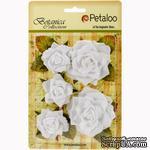 Набор цветов Petaloo - Botanica Garden Roses - White - ScrapUA.com