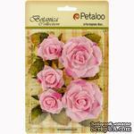 Набор цветов Petaloo - Botanica Garden Roses - Soft Pink - ScrapUA.com