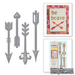 Нож для вырубки от Spellbinders - Ornate Arrows - ScrapUA.com