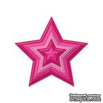 Набор лезвий Spellbinders - Stars Nestabilities - Звезды, 5 шт - ScrapUA.com