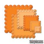 Лезвия от Spellbinders - Classic Scalloped Squares SM, 6 шт - ScrapUA.com