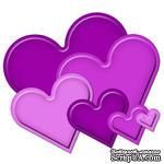 Набор лезвий Spellbinders  - Classic Heart - ScrapUA.com