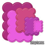 Лезвия от Spellbinders - Big Scalloped Rectangles LG, 5 шт - ScrapUA.com