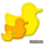 Лезвия от Spellbinders - Nested Ducks, 3 шт - ScrapUA.com