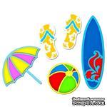 Лезвия Spellbinders - Surf's Up, 5 шт. - ScrapUA.com
