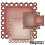 Лезвия Spellbinders - Eyelet Squares, 4 шт. - ScrapUA.com