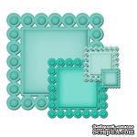 Лезвия от Spellbinders - Beaded Squares, 4 шт - ScrapUA.com