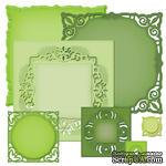 Лезвия Spellbinders - Adorning Squares, 7 шт. - ScrapUA.com