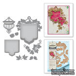 Нож для вырубки от Spellbinders - Stacey Caron - Botanical Bliss - Beautiful Banner Basket - ScrapUA.com