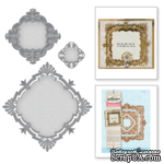 Нож для вырубки от Spellbinders - Art Deco - Savoy Decorative Element - ScrapUA.com