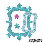 Набор лезвий от Spellbinders - Snowflake Frame - ScrapUA.com