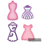 Лезвия от Spellbinders - Decorative Dress Forms - Манекены, 4 шт  - ScrapUA.com