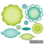 Набор лезвий Spellbinders - Blossom Tags and Accents - ScrapUA.com