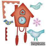 Набор лезвий Spellbinders - Cuckoo Clock - ScrapUA.com