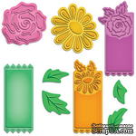 Ножи Floral Tags от Spellbinders - ScrapUA.com
