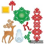 Набор лезвий от Spellbinders - Frosty Forms - ScrapUA.com