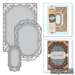 Ножи от Spellbinders - 5х7 Elegant Labels Four - Card Creator, 3 шт. - ScrapUA.com