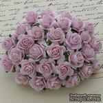 Цветы розочек от Thailand - Светло-розового цвета, 10 мм, 10 шт - ScrapUA.com