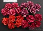 Гвоздики, цвет красный, микс, диаметр - 25мм, 5 шт. - ScrapUA.com