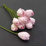 Тюльпан, цвет нежно-розовый, диаметр - 10мм, 5 шт. - ScrapUA.com