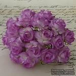 Дикая роза, цвет фиолетовый, диаметр - 30мм, 1 шт. - ScrapUA.com