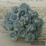 Дикая роза, цвет бледно-голубой, диаметр - 30мм, 1 шт. - ScrapUA.com