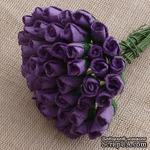 Буточники розы, цвет пурпурный, диаметр - 4мм, 10 шт. - ScrapUA.com