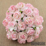 Дикая роза, цвет бледно-розовый диаметр - 30мм, 1 шт. - ScrapUA.com