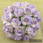 Цветок дикой розы - сиреневый с белым, 30 мм, 1 шт. - ScrapUA.com
