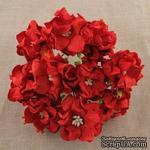 Гардения большая, цвет красный, 6-7см, 1 шт. - ScrapUA.com