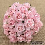Дикая роза, цвет розовый, 3 см., 1 шт - ScrapUA.com
