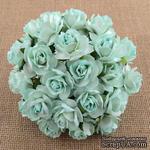 Цветок дикой розы - мятный, 30 мм, 1 шт. - ScrapUA.com