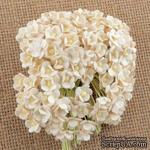 Цветочки  Sweetheart, слоновая кость, 10мм, 10 шт. - ScrapUA.com