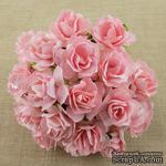 Дикая роза, цвет розовый диаметр - 30мм, 1 шт. - ScrapUA.com