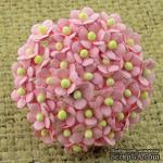 Цветочки Sweetheart, детский розовый, 10мм, 10 шт. - ScrapUA.com