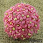 Цветочки Sweetheart, ярко-розовый, 10мм, 10 шт. - ScrapUA.com