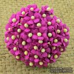 Цветочки Sweetheart, фуксия, 10мм, 10 шт. - ScrapUA.com