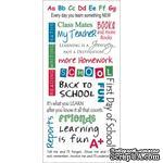 Натирки от Kaisercraft - School Rub-ons Colored - ScrapUA.com